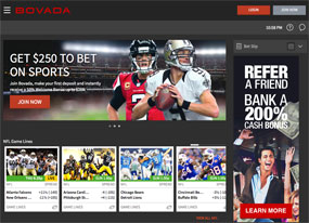 Bet online with Bovada Sportsbook
